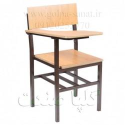 صندلی دانش آموزی و دانشجویی گلپا صنعت مدل A-011