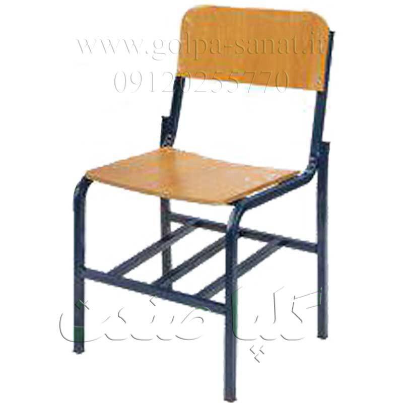 صندلی دانش آموزی بدون دسته برای نیمکت مدارس