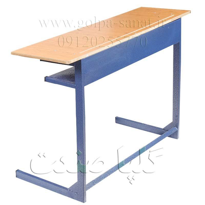 میز مدرسه ای دو نفره جدا مخصوص کلاس درس