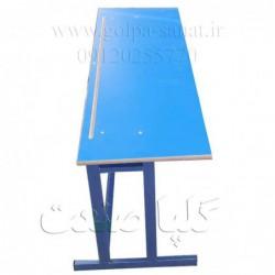 میز مدرسه ای جدا از هم سه نفره چهارپایه