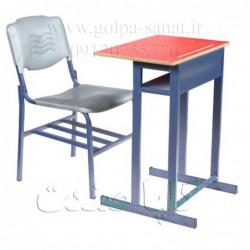 میز و صندلی فایبرگلاس تک...