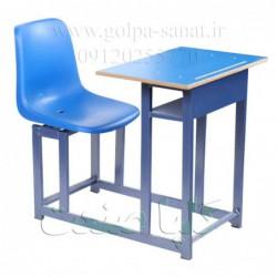 میز و نیمکت یک نفره فایبرگلاس مدل LX