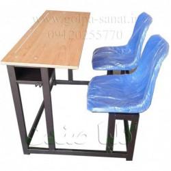 میز و نیمکت فایبرگلاس دو...