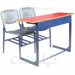 میز و دو عدد صندلی...