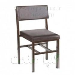 صندلی روکش چرم بدون دسته کد...