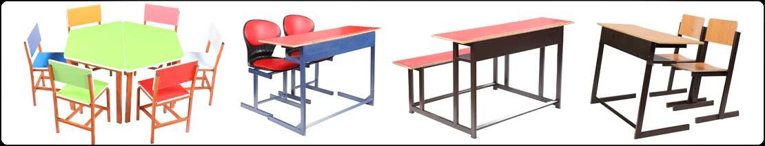 تولید انواع میز و نیمکت مدرسه ای